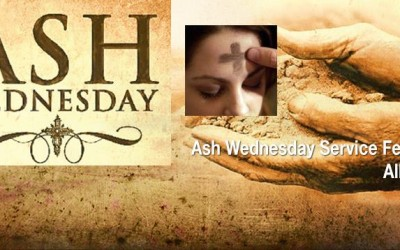 Ash Wednesday Service on February 10 at 7 p.m.