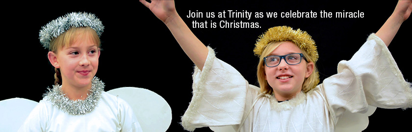 Join Us For Christmas Eve Services at 4, 7 and 9 p.m.