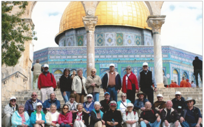 Join us on a trip to Israel March 19-30, 2020