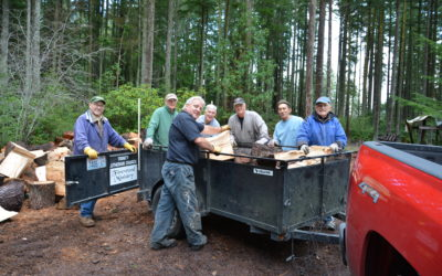 Thank you to our woodcutters