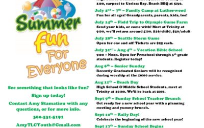 Summer Fun for Everyone – especially TLC youth!