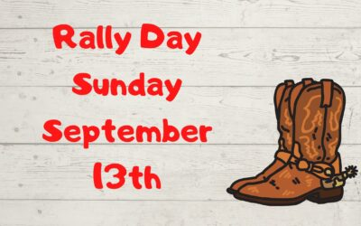 Rally Day September 13th